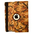 Bargain Tablet Parts Camouflage Rotating Case; Brown