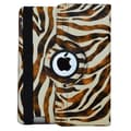 Bargain Tablet Parts Zebra Rotating Case; Brown