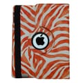 Bargain Tablet Parts Zebra Rotating Case; Orange