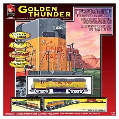 Life-Like Golden Thunder Train Set