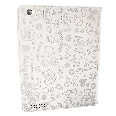 Bargain Tablet Parts Ipad 2 and Ipad 3 Cute Series Case; White