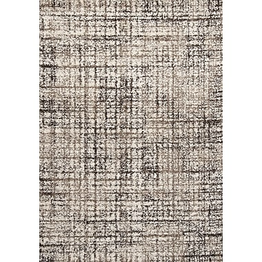 Kalora Sydney Cream/Brown Area Rug; 5'3'' x 7'7''