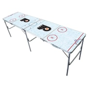 Tailgate Toss NHL 2'' x 8'' Tailgate Table; Philadelphia Flyers