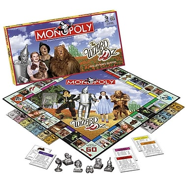 USAopoly Wizard of Oz Monopoly