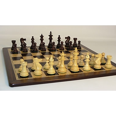 WorldWise Chess Rosewood Royal Chess Set