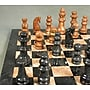 WorldWise Chess Marble Chess Set in Black /