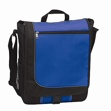 Preferred Nation Messenger Bag; Blue