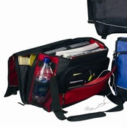 Preferred Nation Monsoon Messenger Bag; Red