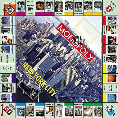 USAopoly New York City Monopoly