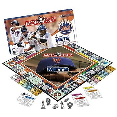 USAopoly MLB Collectors Monopoly; New York Mets