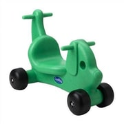 CarePlay Puppy Dog Push/Scoot Ride-On; Green