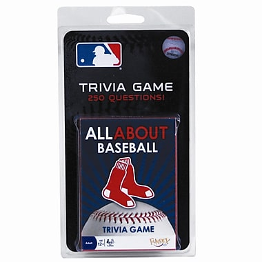 Fundex Games MLB All About Baseball Trivia Card Game; Boston Red Sox
