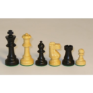 Chopra Small Black French Chessmen