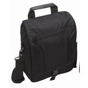 Preferred Nation Messenger Bag; Black
