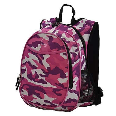 Obersee Kids All in One Pre-School Cooler Backpack; Pink Camo
