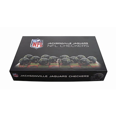 Rico Industries NFL Checker Set; Jacksonville Jaguars