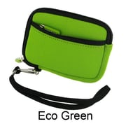 rooCASE Neoprene Sleeve Carrying Case for Digital Camera; Eco Green