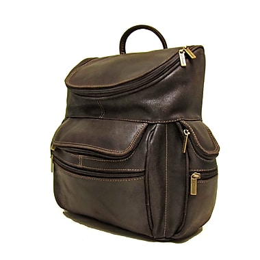 Le Donne Leather Distressed Leather Laptop Backpack