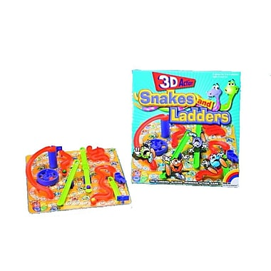 Intex 3D Snakes and Ladders Board Game