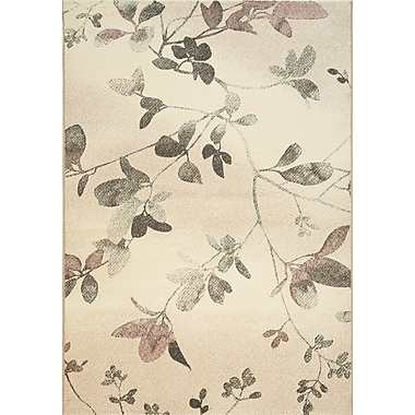 Kalora Intrigue Subtle Blossoms Area Rug; 5'3'' x 7'7''