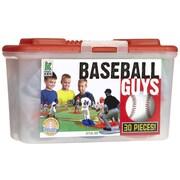 Kaskey Kids Baseball Board Game with Guys (Set of 30)