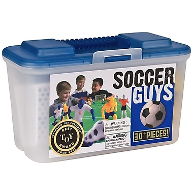 Kaskey Kids Soccer Board Game with Guys (Set of 30)