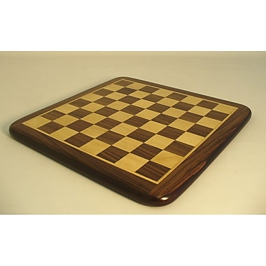 Pleasantime 21'' Rosewood / Maple Thick Veneer Chess Board