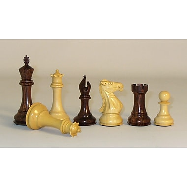 Pleasantime Rosewood Stallion Knight Double Queen Chessmen