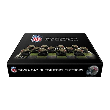 Rico Industries NFL Checker Set; Tampa Bay Buccaneers