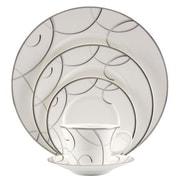 Nikko Ceramics Elegant Swirl 5 Piece Place Setting