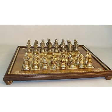 Ital Fama Camelot Chess Set in Pewter