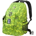 Wildkin Serious Backpack; Big Dots Green