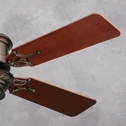 Emerson Fans Cornerstone Wood 54'' Ceiling Fan Blade Sets (Set of 4); Mahogany