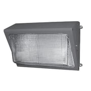 NSI Industries Medium Wallpack 1 Light Flood Light; 150W ED23 Medium Base Bulb