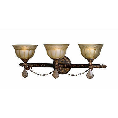 Woodbridge Lucerne 3 Light Vanity Light