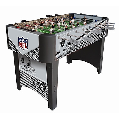 Imperial NFL Team Foosball Table; Oakland Raiders