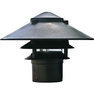 Dabmar Lighting 1 Light Pathway Light; Black