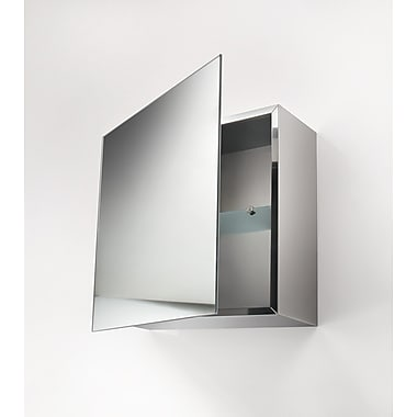 WS Bath Collections Linea Pika 17.7'' x 17.7'' Surface Mount Medicine Cabinet