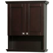Wyndham Collection Acclaim 25'' x 30'' Wall Mounted Cabinet; Espresso