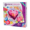 Mega Brands 200 Piece 3D Breakthrough Hearts and Flowers Puzzle