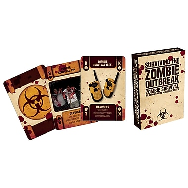 NMR Zombie Outbreak Playing Cards