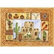 Custom Printed Rugs Southwestern Fun; 52'' x 37''
