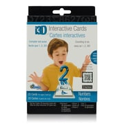 Cypher Kids Club Cypher Kids Club Numbers i3D Interactive Cards