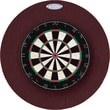 Dart-Stop Pro Series 29'' Round Backboard in Burgundy; Burgundy