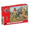 Airfix 1:72 WWII Australian Infantry Plastic Figures