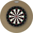 Dart-Stop Pro Series 29'' Round Backboard in Tan; Tan