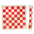 Sunnywood Roll Up Chess Mat; Red
