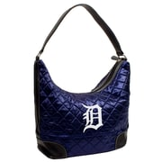Little Earth MLB Quilted Hobo Bag; Detroit Tigers