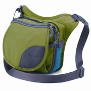Overland Equipment Special Edition Bayliss Shoulder Bag; Moss Peacock/Green Lake