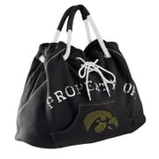 Little Earth NCAA Sport Noir Hoodie Tote Bag; Iowa Hawkeyes